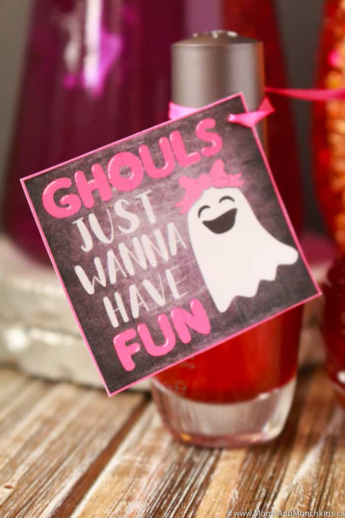 Ghouls Just Wanna Have Fun Halloween Tags