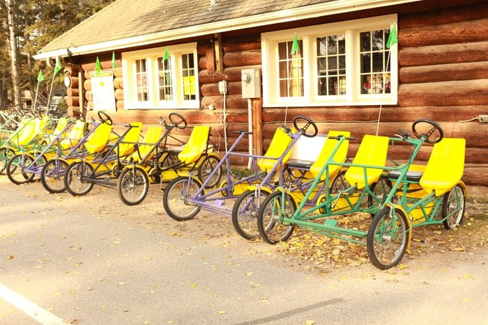 Quadracycle Bikes Waskesiu