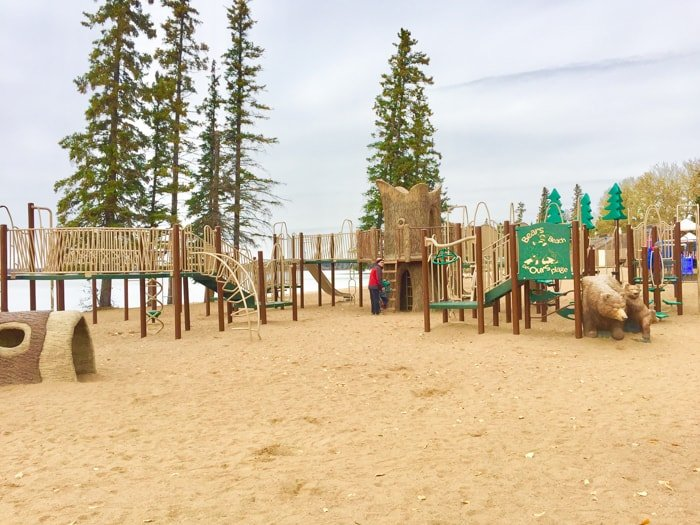 Beach Playground Waskesiu