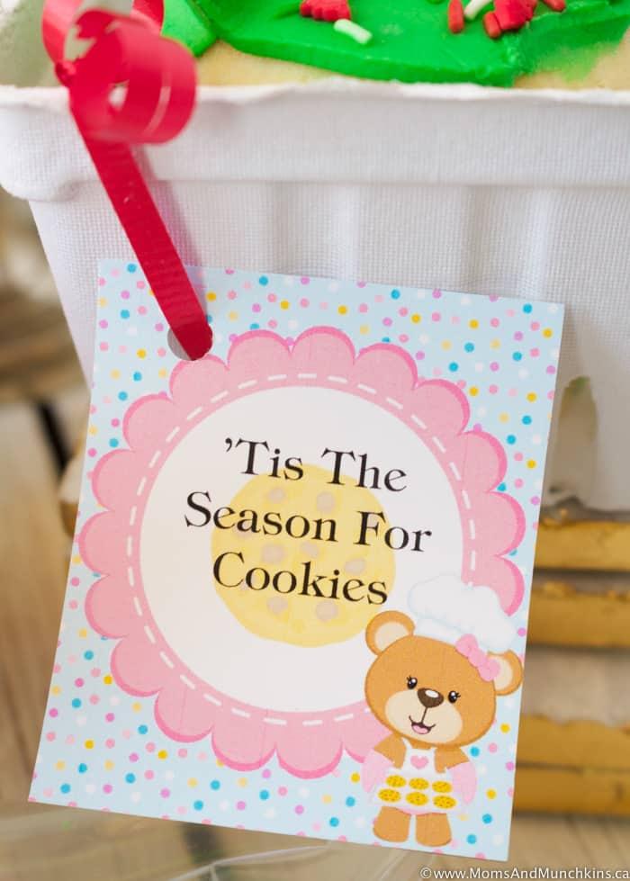Free Printable Christmas Cookie Tags