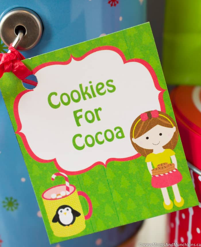 Free Cookie Gift Tags