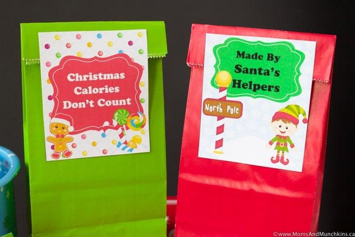 Free Christmas Treat Tags