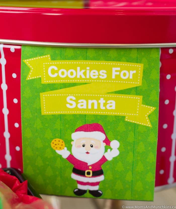 Free Printable Christmas Treat Tags