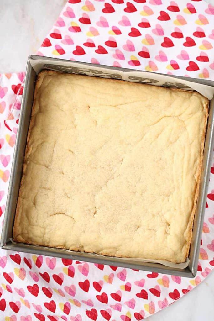 Baked Sugar Cookie Bar
