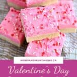 Valentine Sugar Cookie Bars Recipe