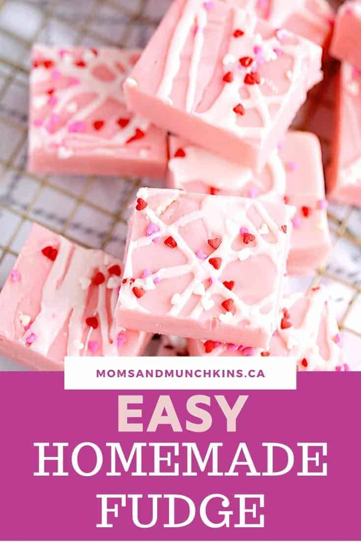 Easy Homemade Fudge
