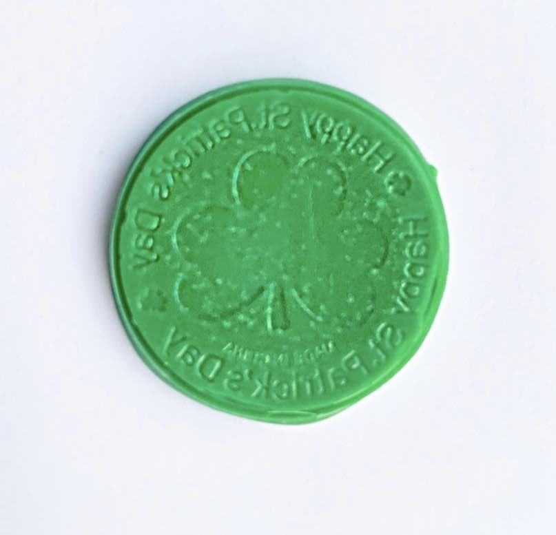 Chocolate Coin Imprinted