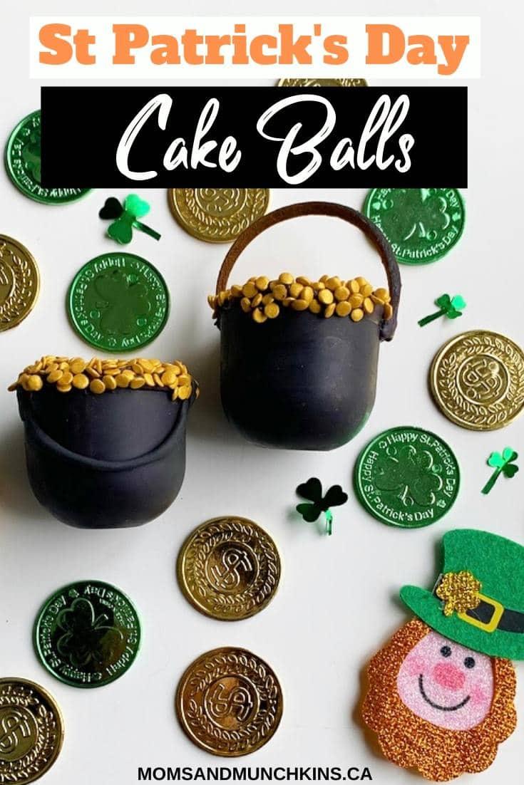 Pot of Gold Cake Balls