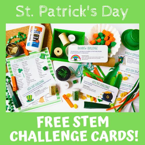 St Patrick's Day STEM Challenges For Kids