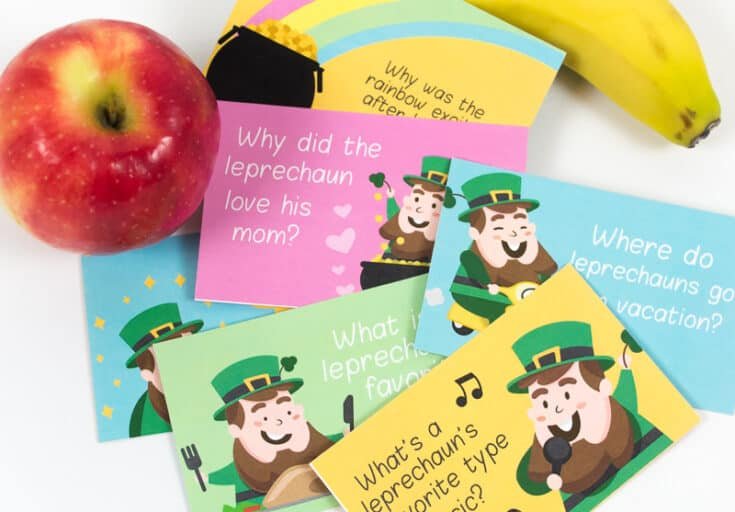 These St. Patricks Day Jokes For Kids Are The Perfect Lunch Pick Me Up (Free Printable)