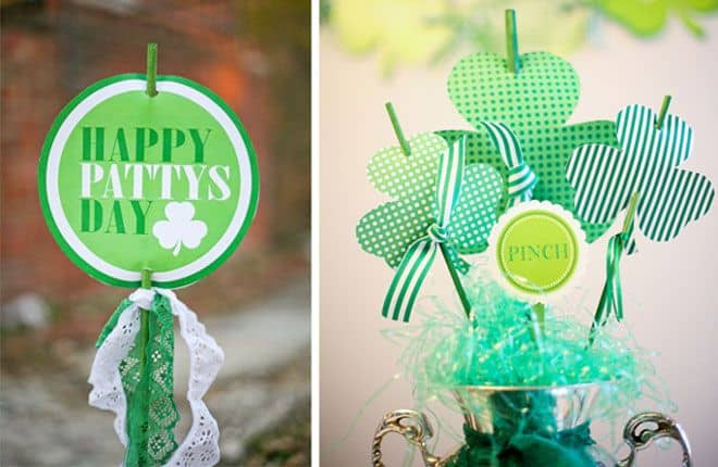 FREE St. Patrick's Day Party Printable