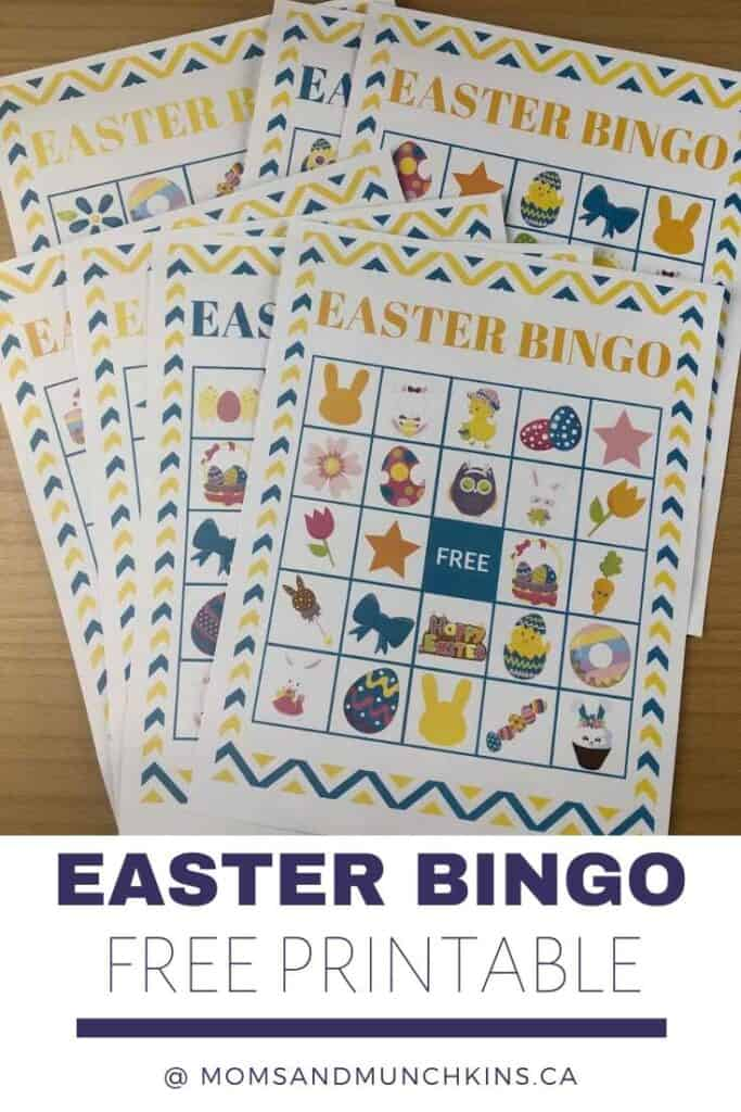 Easter Bingo Free Printable