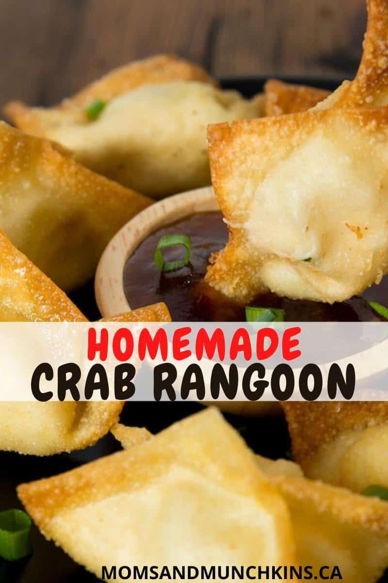 Easy Homemade Crab Rangoons