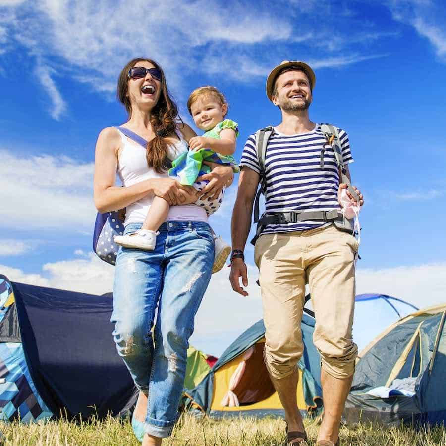Family Camping Games