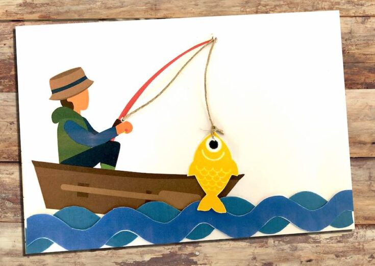3D Fathers Day Card