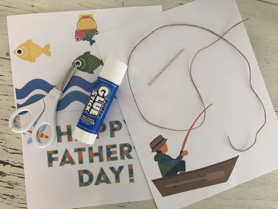 Fathers Day Card Supplies