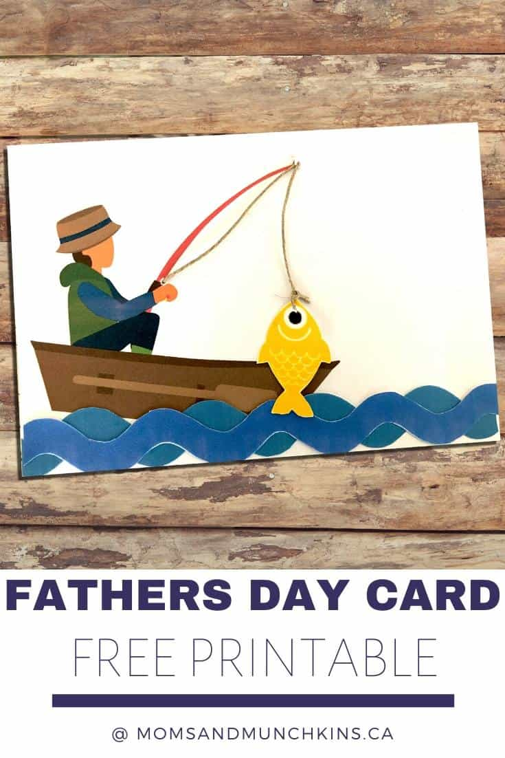 free printable 3D Father's day card