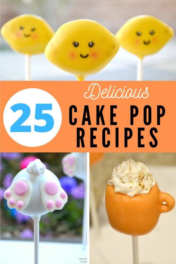 delicious cake pop recipes