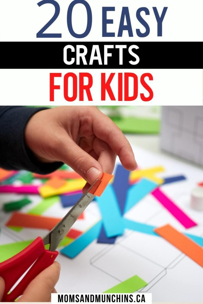 20 Easy Crafts For Kids