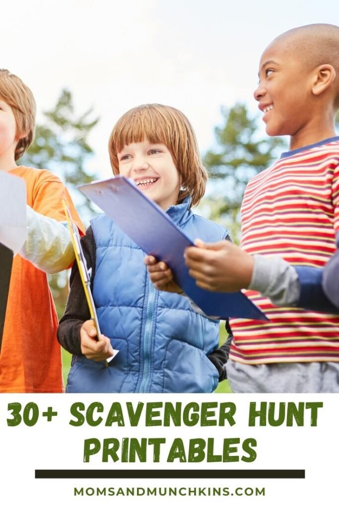 30+ Scavenger Hunt Printables For Kids